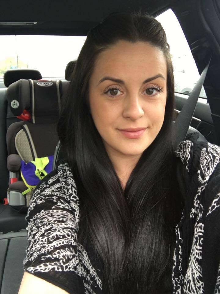 Gina Levtov in her car